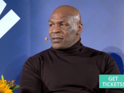 Celebrity Video: Mike Tyson - LIVE from the NYPL